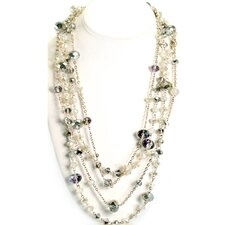 Crystal Necklace (Set of 2)
