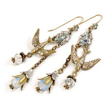 Spirit Bird Opal Drop Earrings