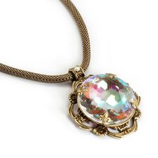<strong>Sweet Romance</strong> Rainbow Jewel Necklace