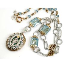 <strong>Sweet Romance</strong> Queen of Miracles Locket Necklace