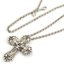 <strong>Sweet Romance</strong> NeoRenaissance Cross Necklace