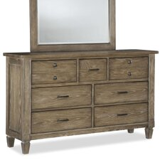 Brownstone Village 7 Drawer Dresser