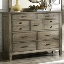 <strong>Legacy Classic Furniture</strong> Brownstone Village 9 Drawer Dresser