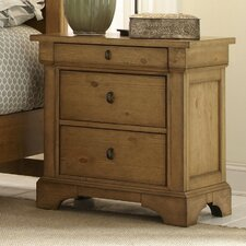 Pleasant Grove 3 Drawer Nightstand
