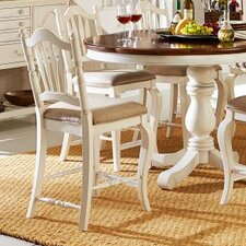 """Haven 25"""" Bar Stool with Cushion (Set of 2)"""