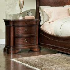 Heritage Court 3 Drawer Nightstand