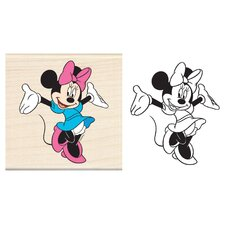 Disney Minnie Wooden Stamp
