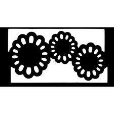Garden Flower Border Punch