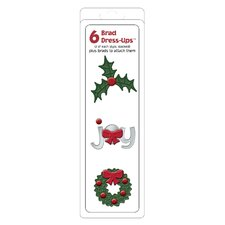 Dressup Christmas Brad (Set of 6)