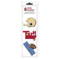 Brad Buddies Football Brad (Set of 6)