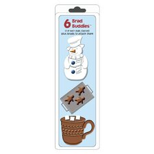 Brad Buddies Frosty Brad (Set of 6)