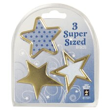 Star Supersized Brad (Set of 3)