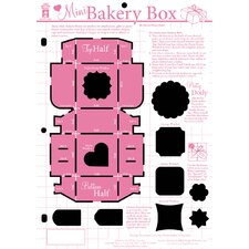 <strong>Hot Off the Press</strong> Mini Bakery Box Template