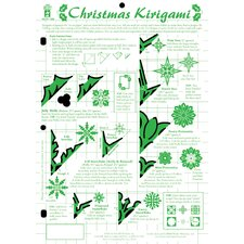 Christmas Kirigami Template