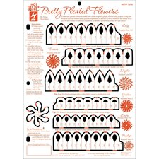 Easipleat Flower Template