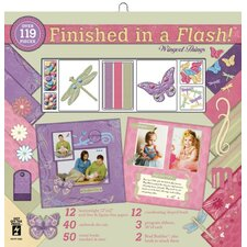 <strong>Hot Off the Press</strong> Wing Thing Scrapbook Kit