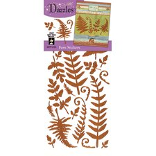 <strong>Dazzles</strong> Fern Stickers