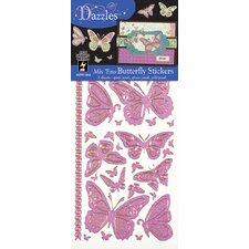 <strong>Dazzles</strong> Butterfly Stickers