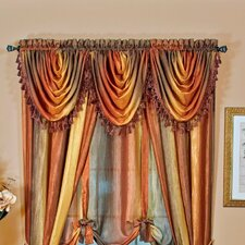 "Ombre Waterfall 50"" Curtain Valance"