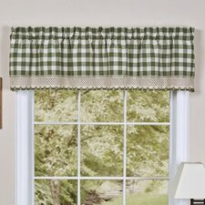 "Buffalo Check 58"" Curtain Valance"