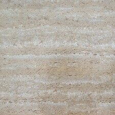 "Nexus 12"" x 12"" Vinyl Tile in Travertine Marble"