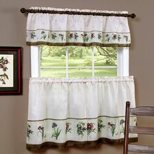 Botantical Valance and Tier Set