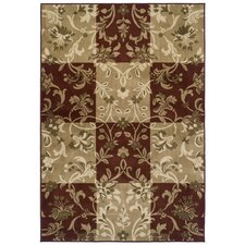Easton Checker Vines Rug