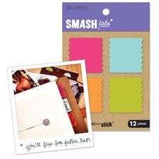 Smash Fabric Square Tabs