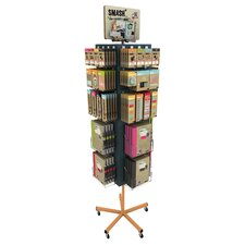 Smash Scrapbooking Set with Spinner Display Stand