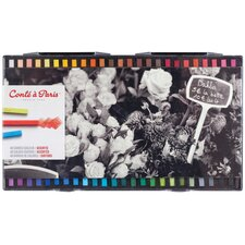 Assorted Color Pastel Crayons (Set of 48)