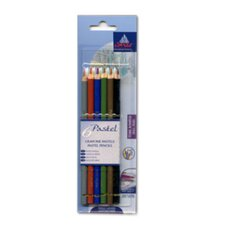 Pastel Dull Hues Pencil Color (Pack of 6)