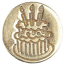 <strong>Manuscript</strong> Decorative Sealing Cake Wax Coin