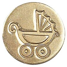 Decorative Pram Sealing Wax Coin