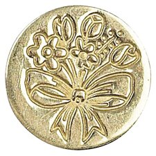 Decorative Sealing Spring Flower Bouquet Wax Coin