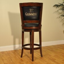 Guinness Bar Stool with Cushion