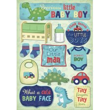 Cardstock Stickers Mommas Boy