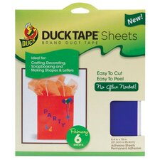 Color Tape Sheets (Set of 6)