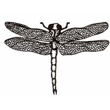 Mounted Rubber Dragonfly Stamp