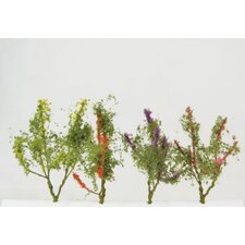 Architectural Model Flower Trees (Set of 8) (Set of 8)