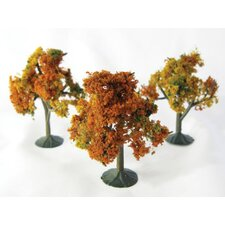 Architectural Model Autumn Tree (Set of 3)