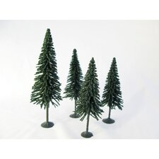 Architectural Model Pine Tree (Set of 4)