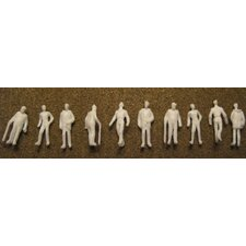 "Architectural Model 1/8"" Male Figures (Set of 10)"