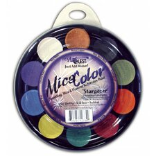 Mica Watercolor Paint Palettes