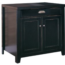 <strong>kathy ireland Home by Martin Furniture</strong> Tribeca Loft Black Door Base