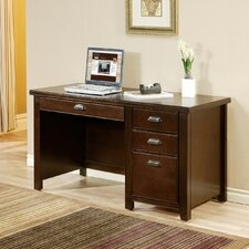 Tribeca Loft Single Pedestal Writing Desk