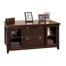 "Tribeca Loft 68"" Storage Credenza with Sliding Doors"
