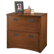 Mission Pasadena 2-Drawer Lateral File Cabinet Base