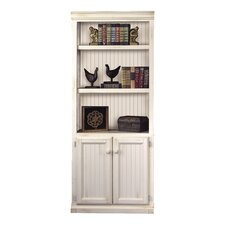"""Southampton Oyster 73"""" H Lower Door Bookcase"""