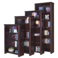 "Tribeca Loft Cherry Office Collection 84"" Bookcase in Cherry"