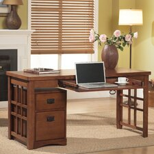 <strong>kathy ireland Home by Martin Furniture</strong> Wood Laptop / Writing Desk